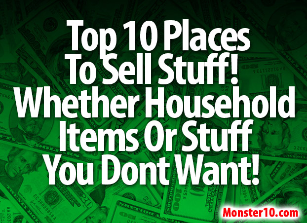most popular sites to sell stuff